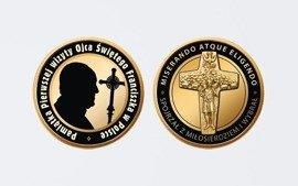Numizmat z okazji wizyty Papieża Franciszka w Polsce